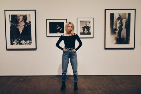 Schwarz-weiß Fotografien Cindy Shermans