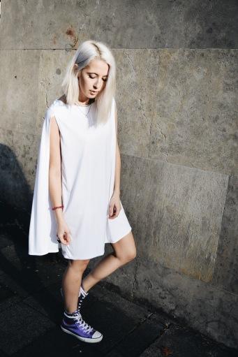 Das Design dieses atemberaubenden Kleids haben wir Jan n' June zu verdanken.