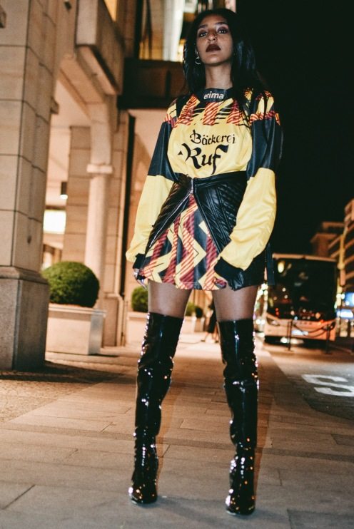 Mercedes Benz Fashionweek, 06. Juli 2017, Streetstyle 1